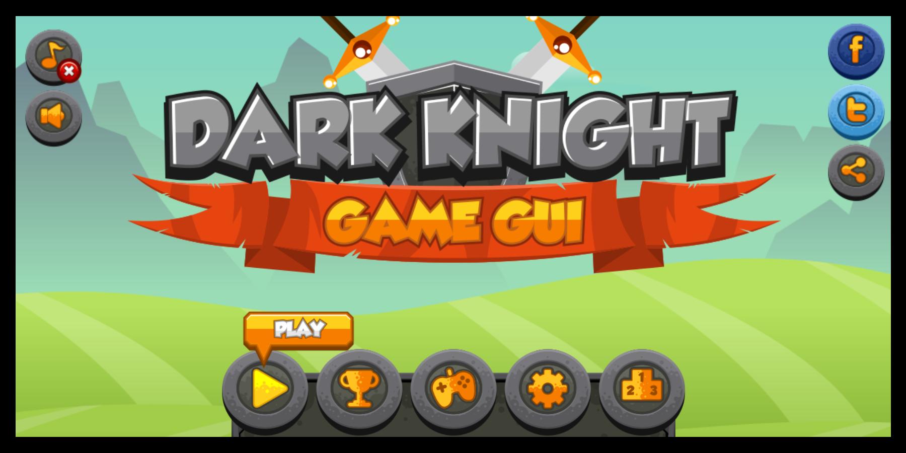 Dark Knight - Game GUI