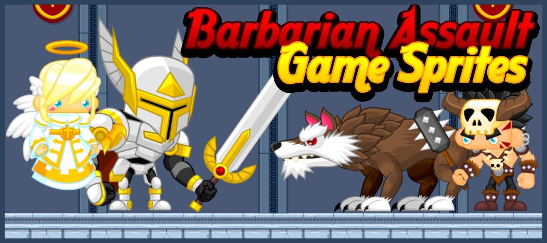 Barbarian Assault - Game Sprites