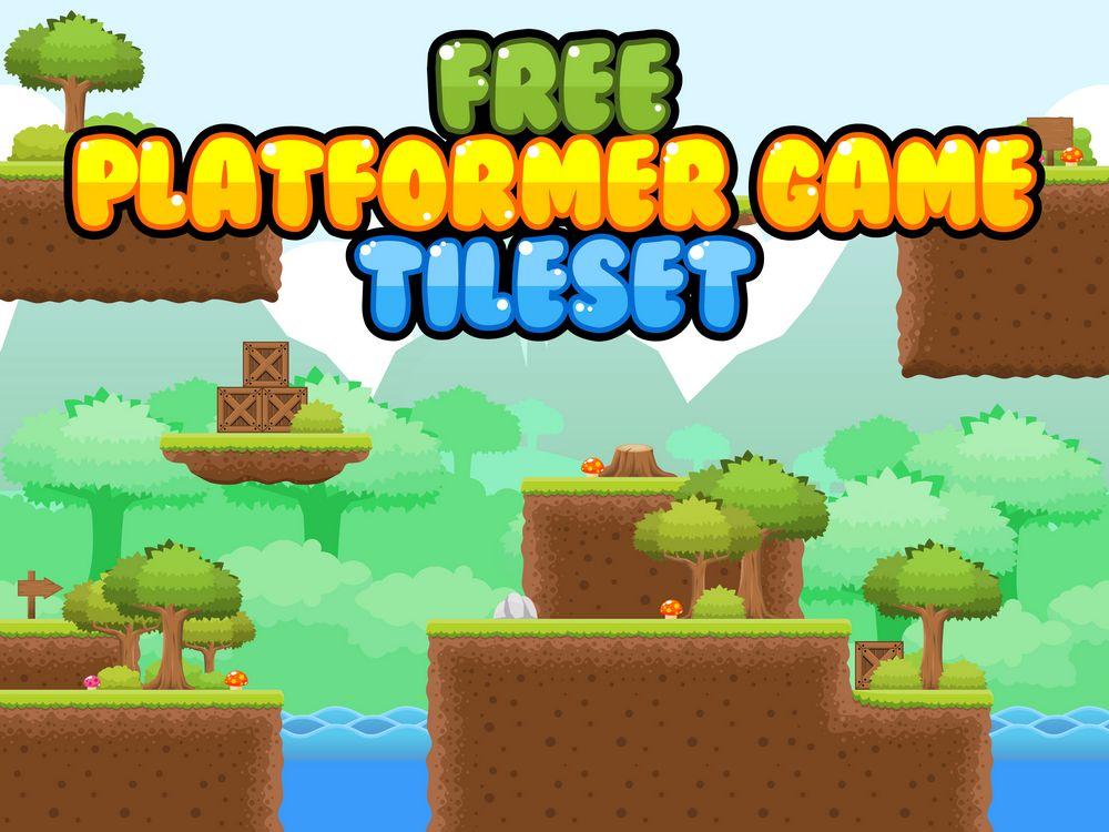 Free Platformer Tileset