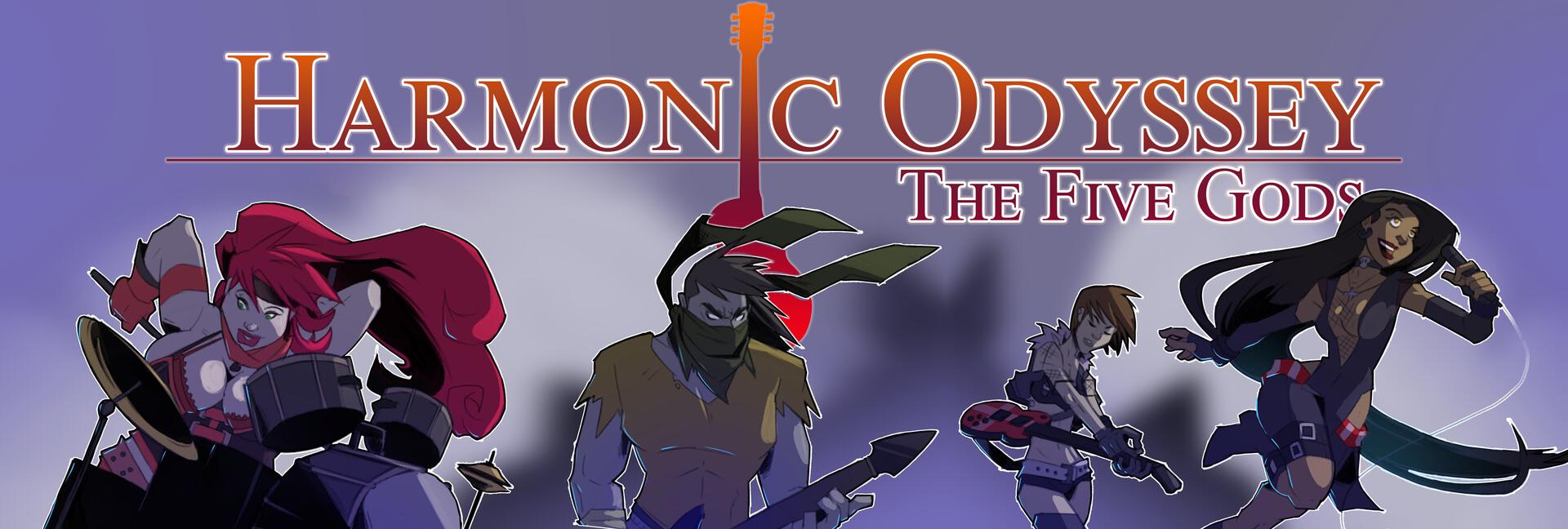 Harmonic Odyssey: The Five Gods