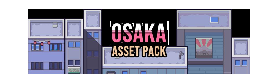 Osaka City Game Assets