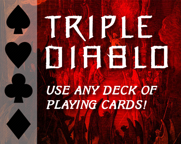 Triple Diablo - Playing Card RPG