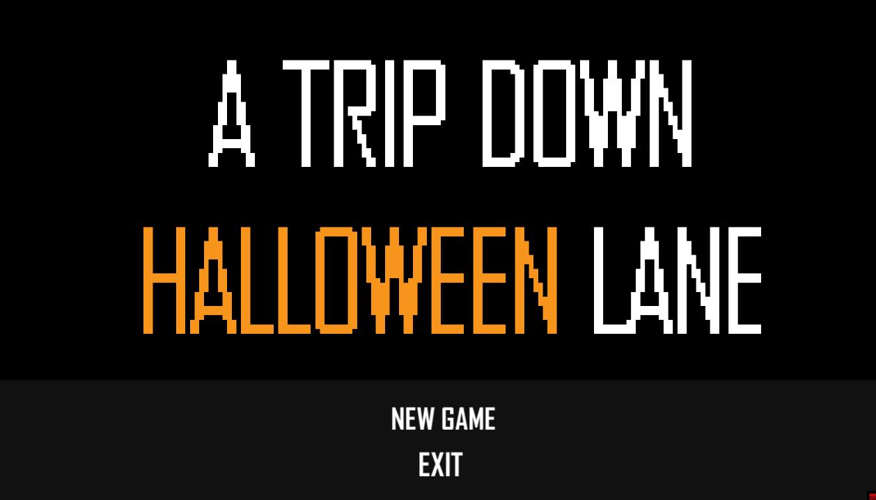 A TRIP DOWN HALLOWEEN LANE