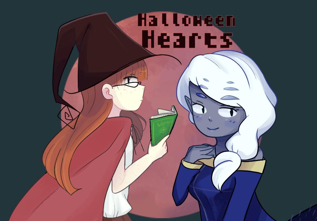 Halloween Hearts