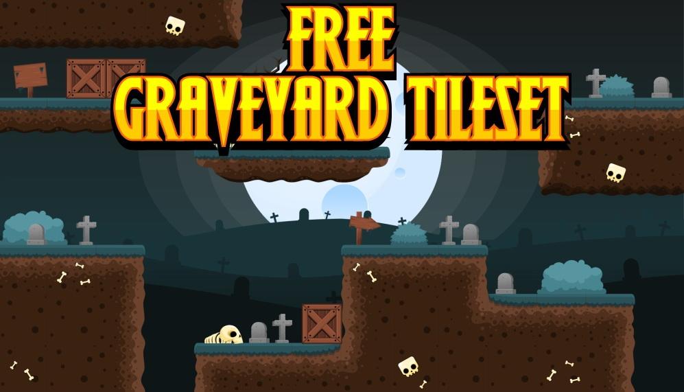 Free Graveyard Tileset
