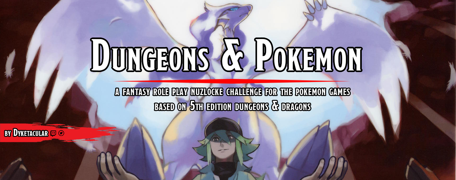 Dungeons & Pokemon: A Nuzlocke challenge inspired by TTRPGs