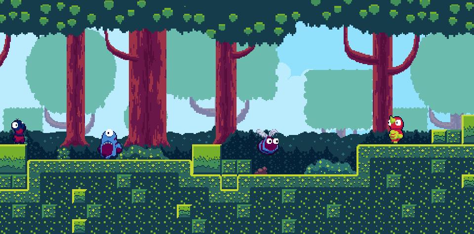 Tiny Platformer - Forest Asset Pack