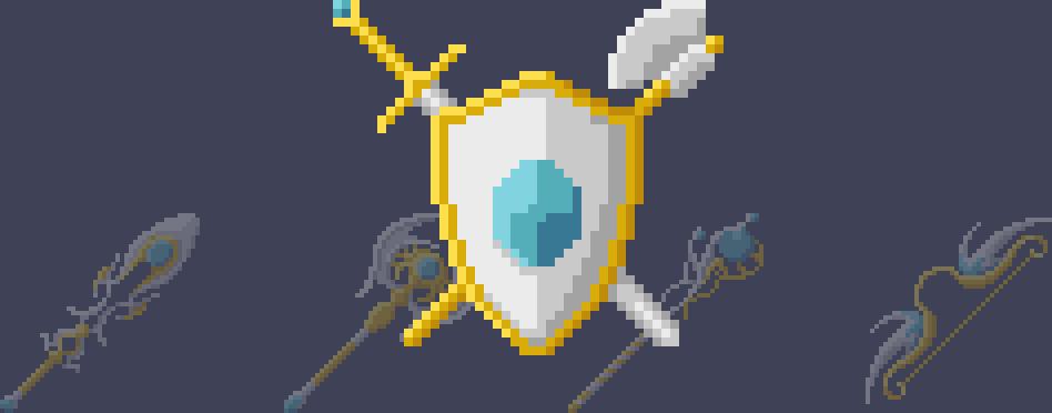 Light Weapons (Pixel-Art)