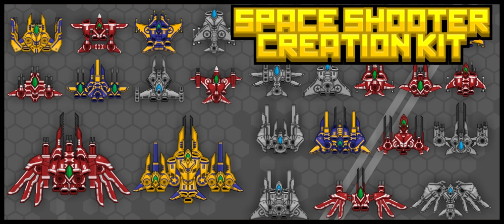 Top Down Space Shooter 1