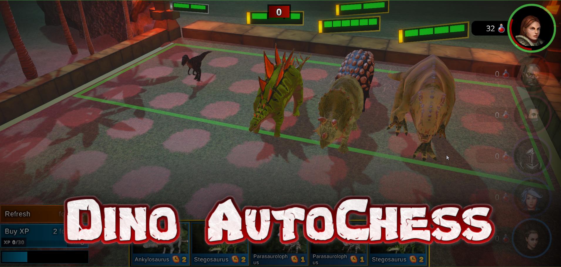 Dino Auto Chess