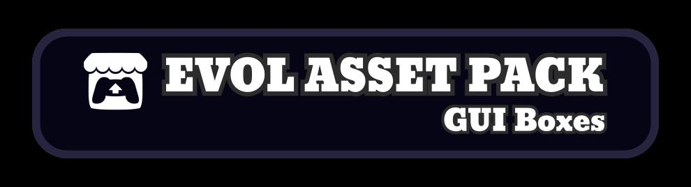 Evol Asset Pack - GUI / HUD Boxes