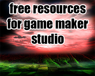 Free  resources for game maker studio
