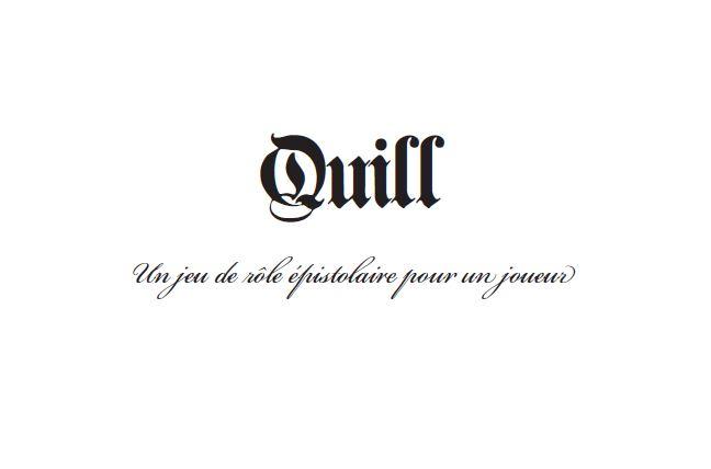 Quill VF: l'original