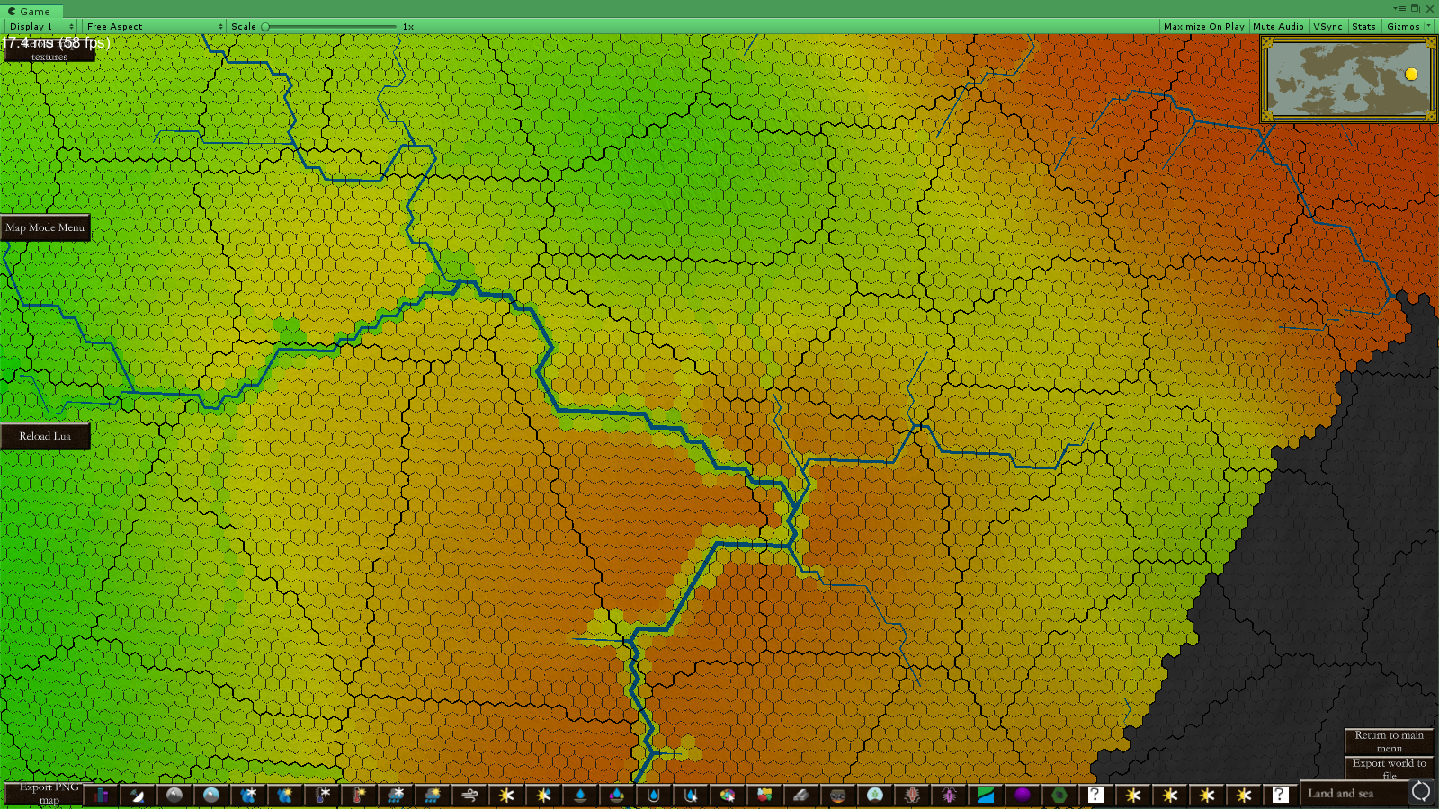 Soil Mineral Richness Mapmode