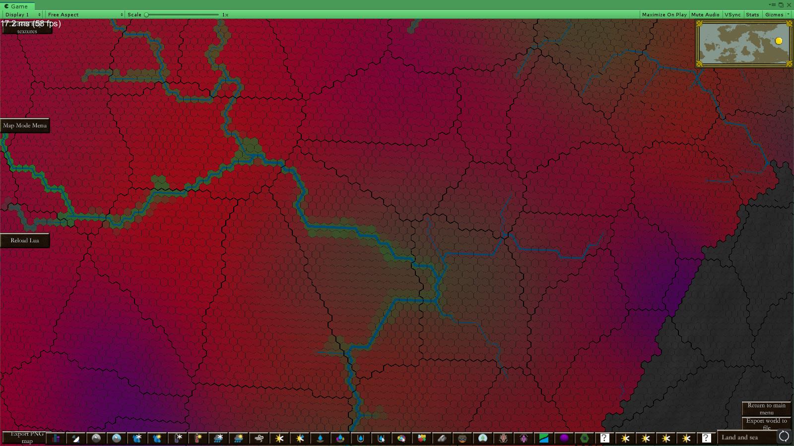 Soil Texture Mapmode