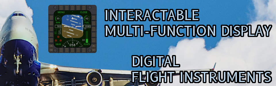 MFD - INTERACTABLE MULTI-FUNCTION DISPLAY