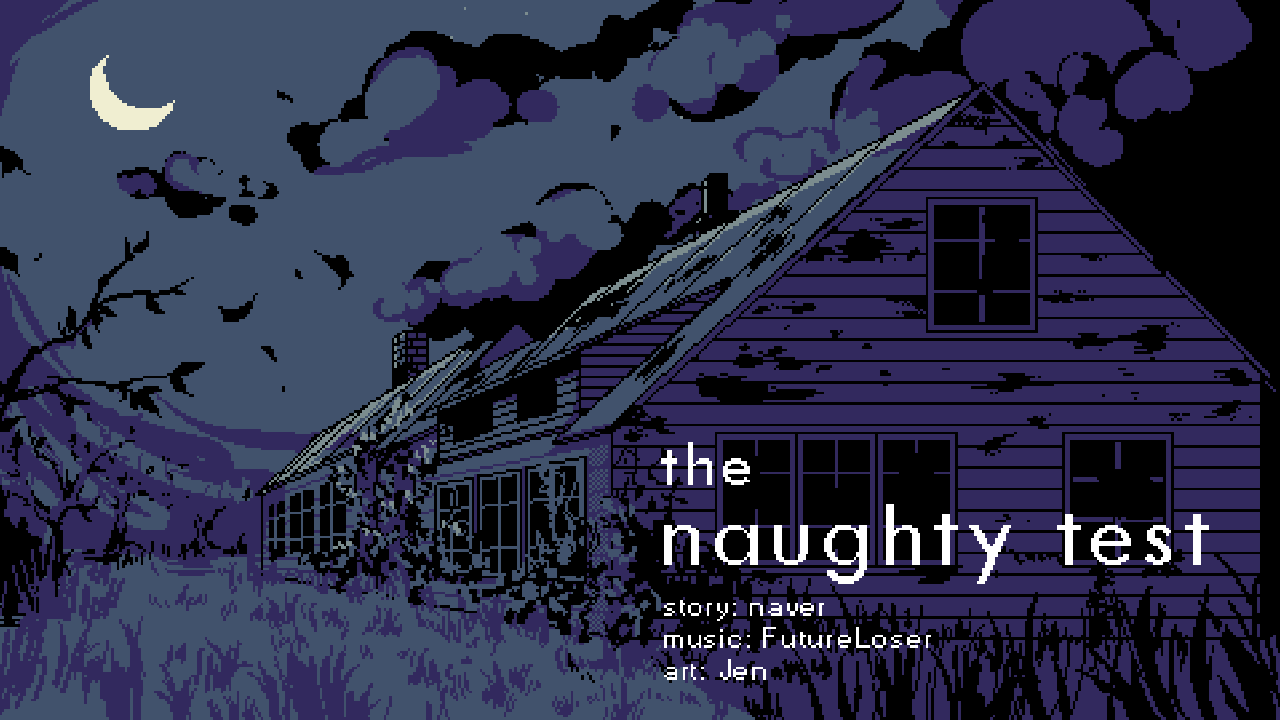 The Naughty Test (Jam Edition)
