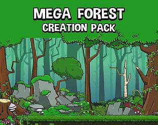 Mega forest creation pack