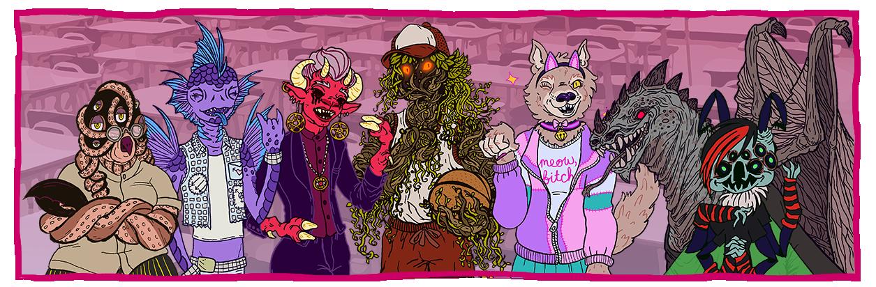 Gay Monster Kiss Club
