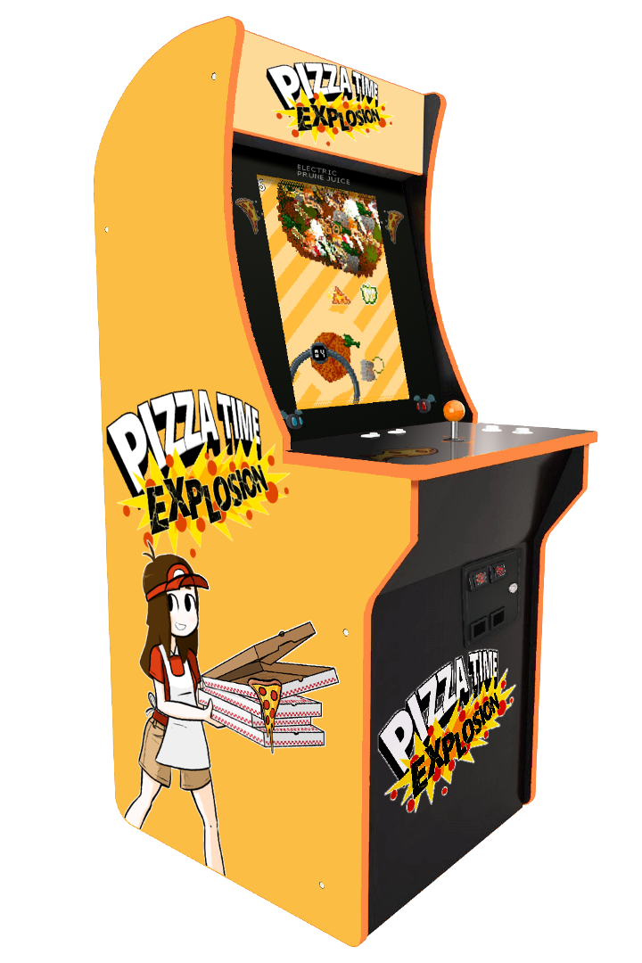 Pizza Time Explosion as an arcade cabinet!