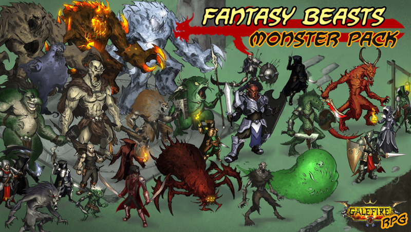 Fantasy Beasts, Monster Pack