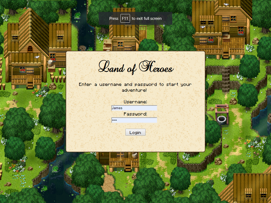 Land of Heroes: 2d MMORPG - Devlogs - itch io