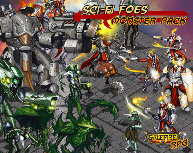 Sci-fi Foes, Monster Pack