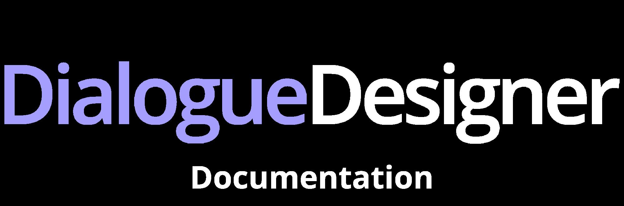 Dialogue Designer - documentation