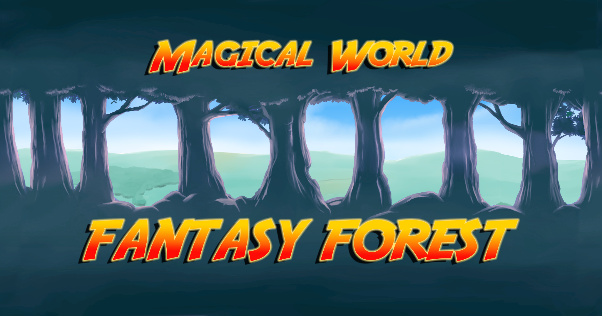 HQ Magical World, Fantasy Forest & Characters