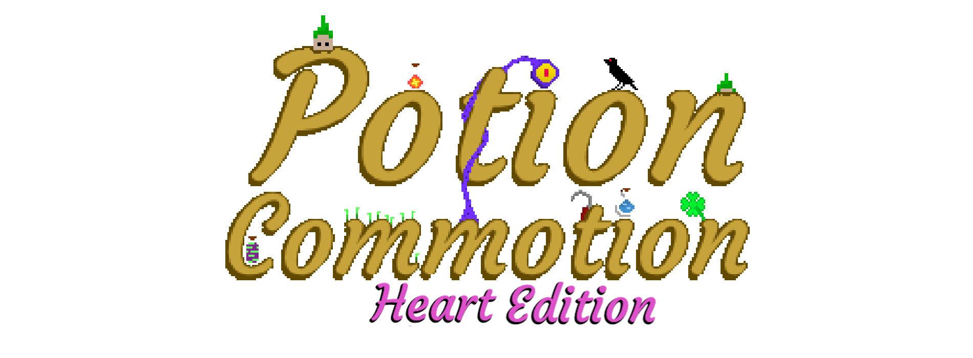 Potion Commotion:  Heart Edition