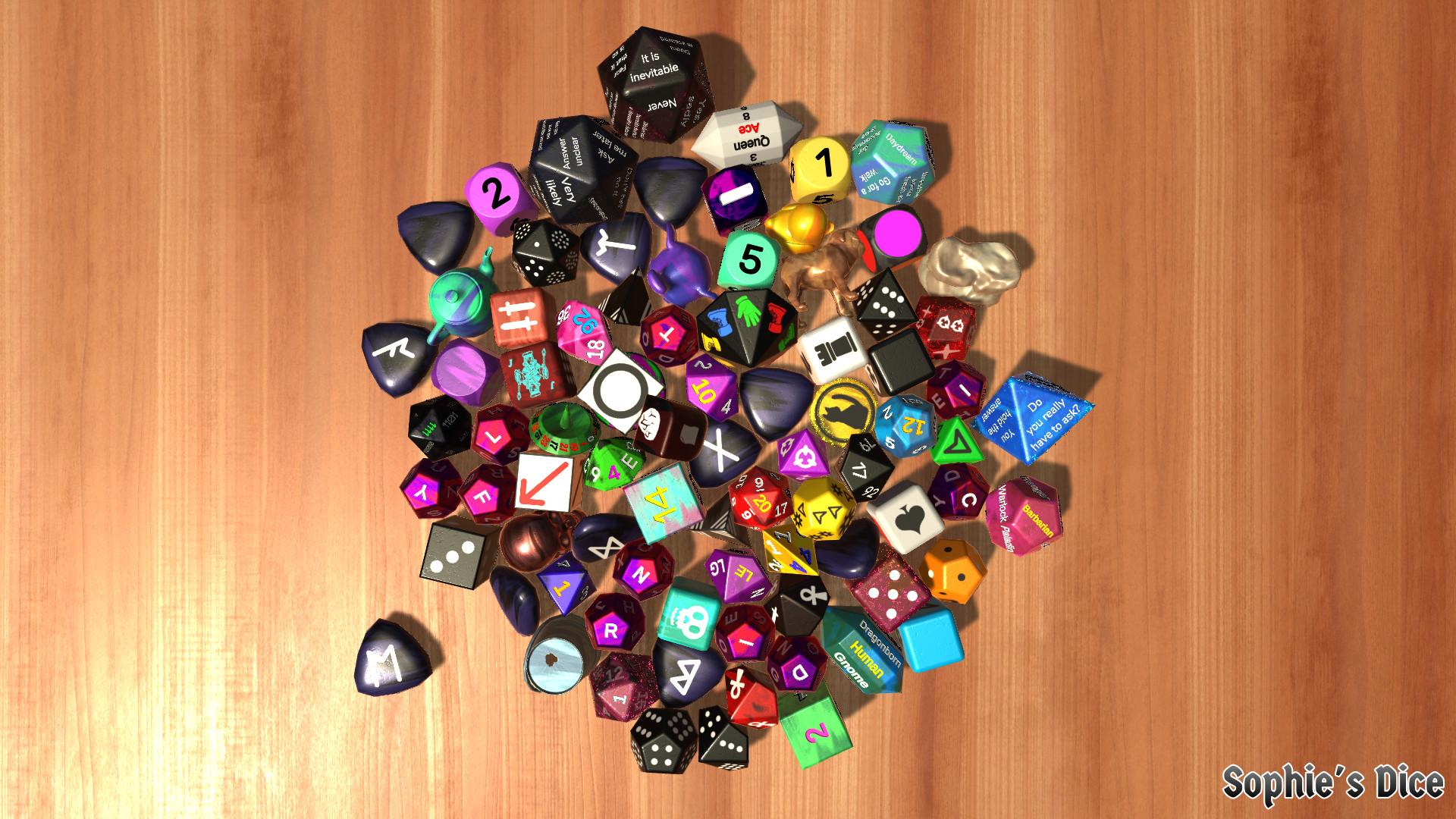 New example dice