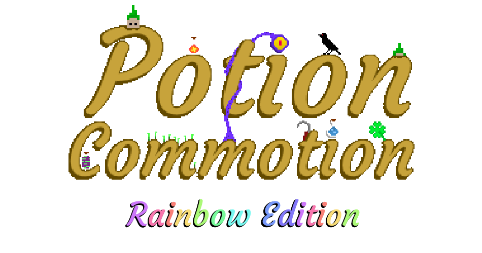 Potion Commotion: Rainbow Edition