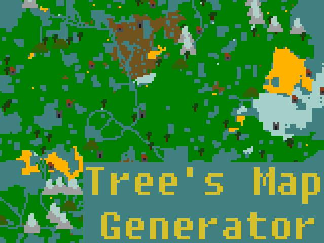 Tree's Random Map generator