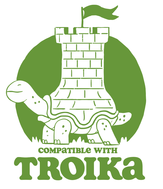 Compatible with Troika