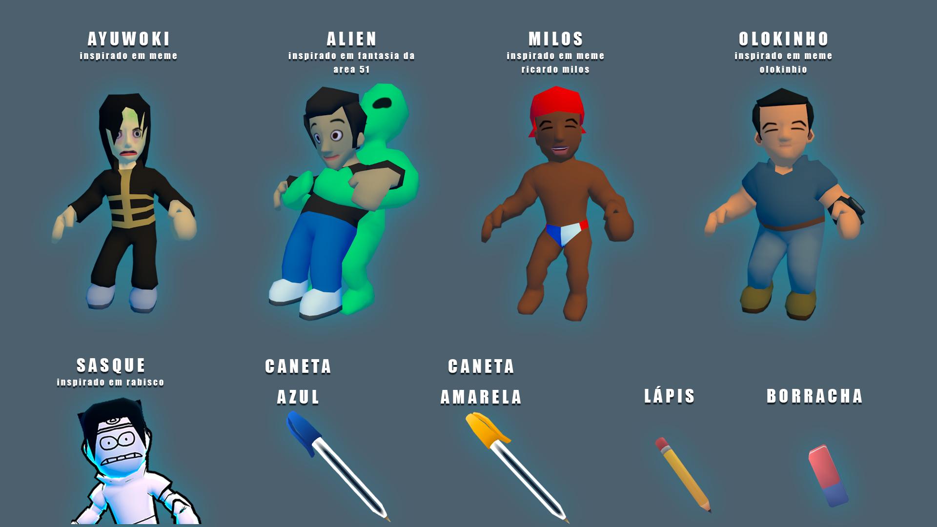 Skins Para Caneta Azul: O Jogo