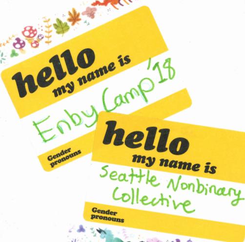 Enby Camp Zine