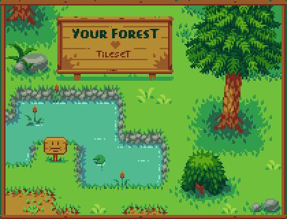 Forest Tileset