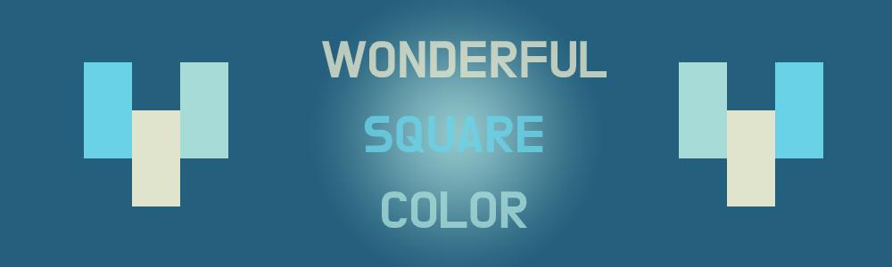 Wonderful Square Color