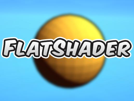 Flat Shader Unity Asset