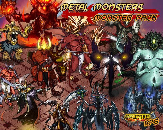 METAL Monsters, Monster Pack