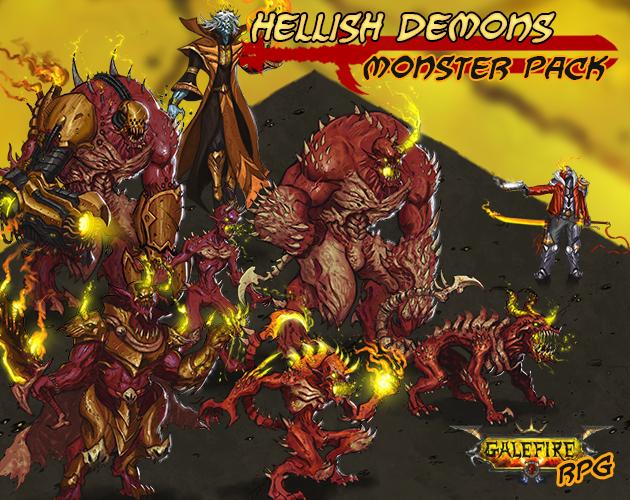 Hellish Demons, Monster Pack