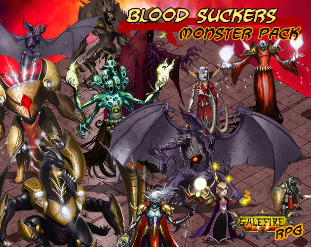 Blood Suckers, Monster Pack