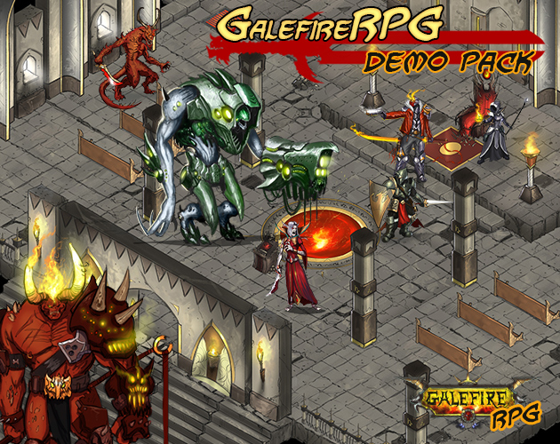 GalefireRPG Demo Pack