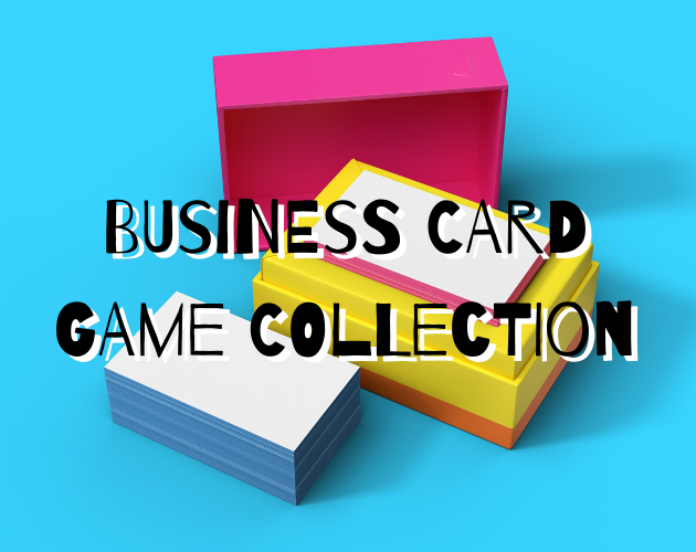 Business Card Games by the Sword Queen