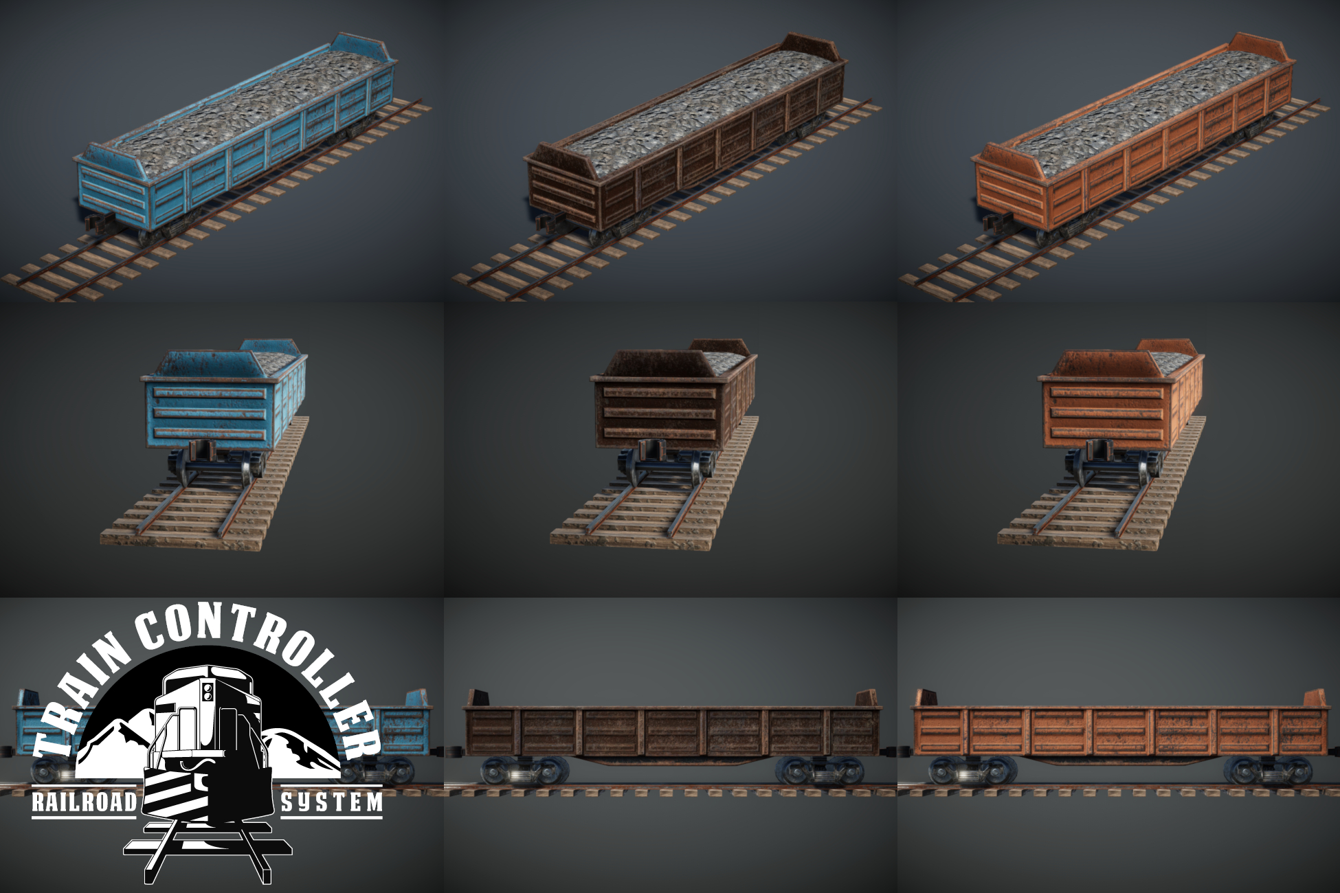 Train Controller Addon 2 - Gondola Wagon