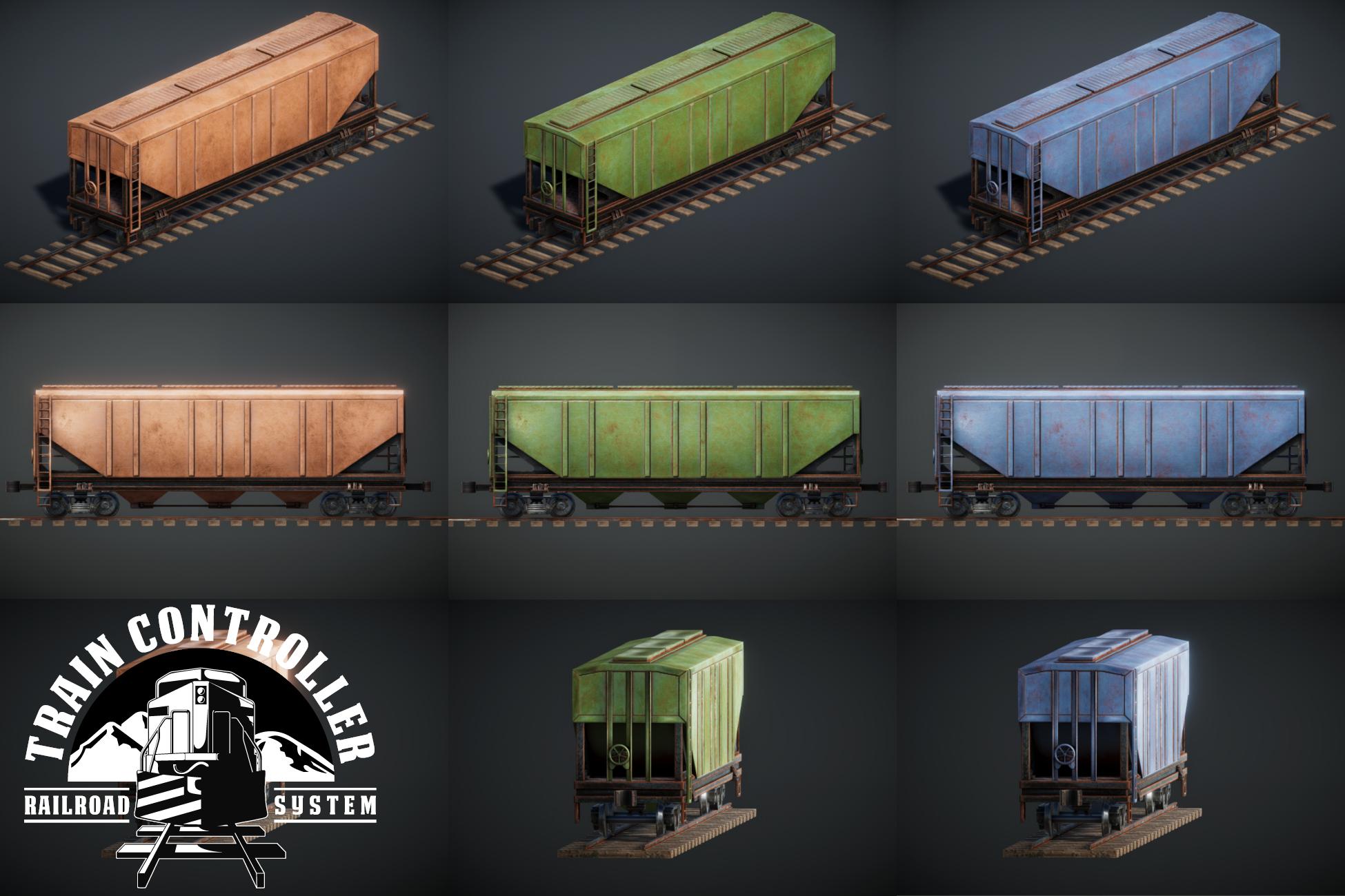 Train Controller Addon 3 - Bulk Grain Wagon