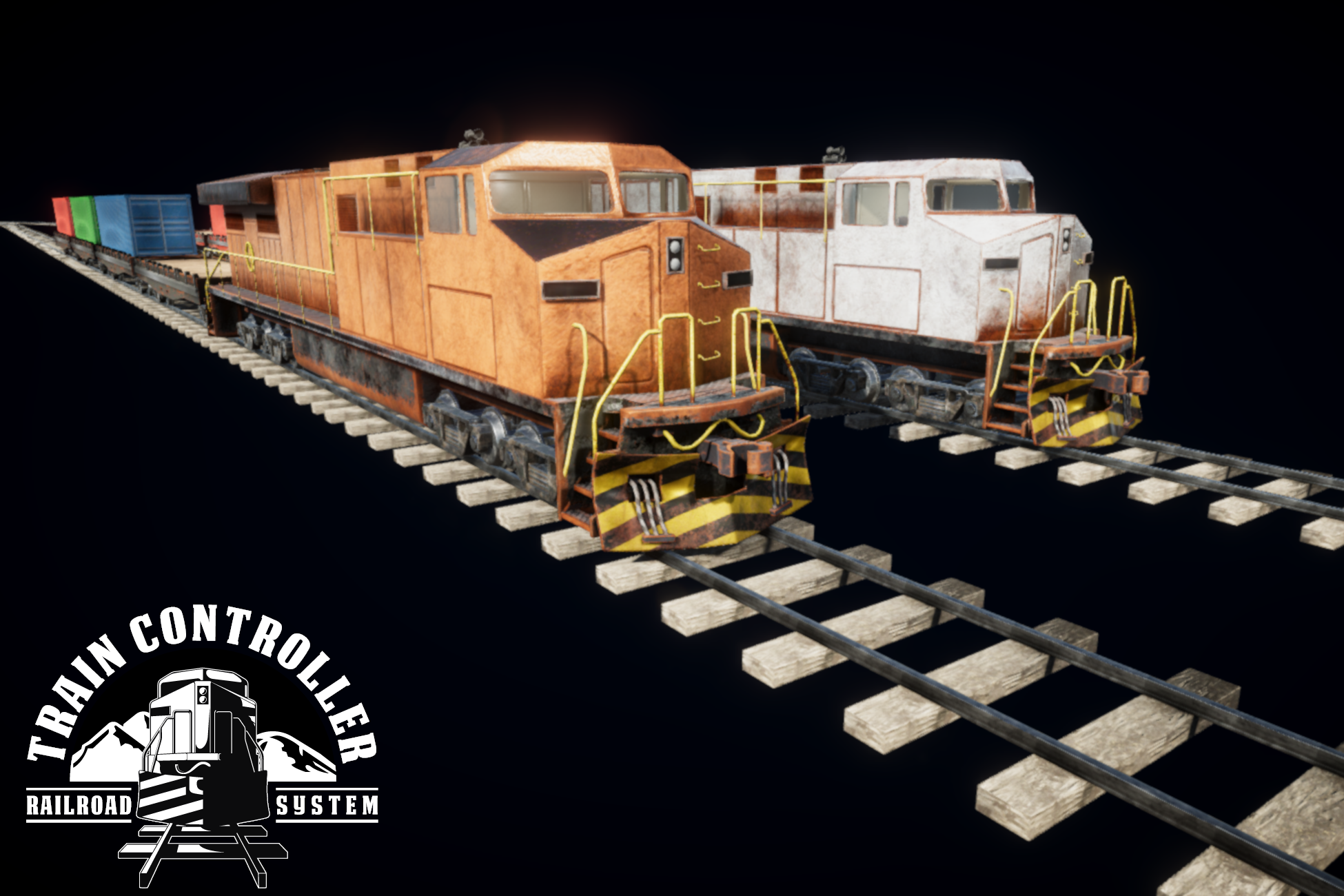 Train Controller (Railroad System) for Unity 3D