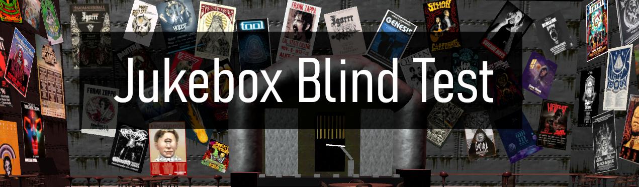 Jukebox Blind Test