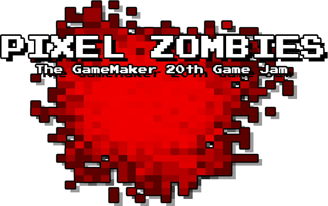 Pixel Zombies GME - The GameMaker 20th Game Jam