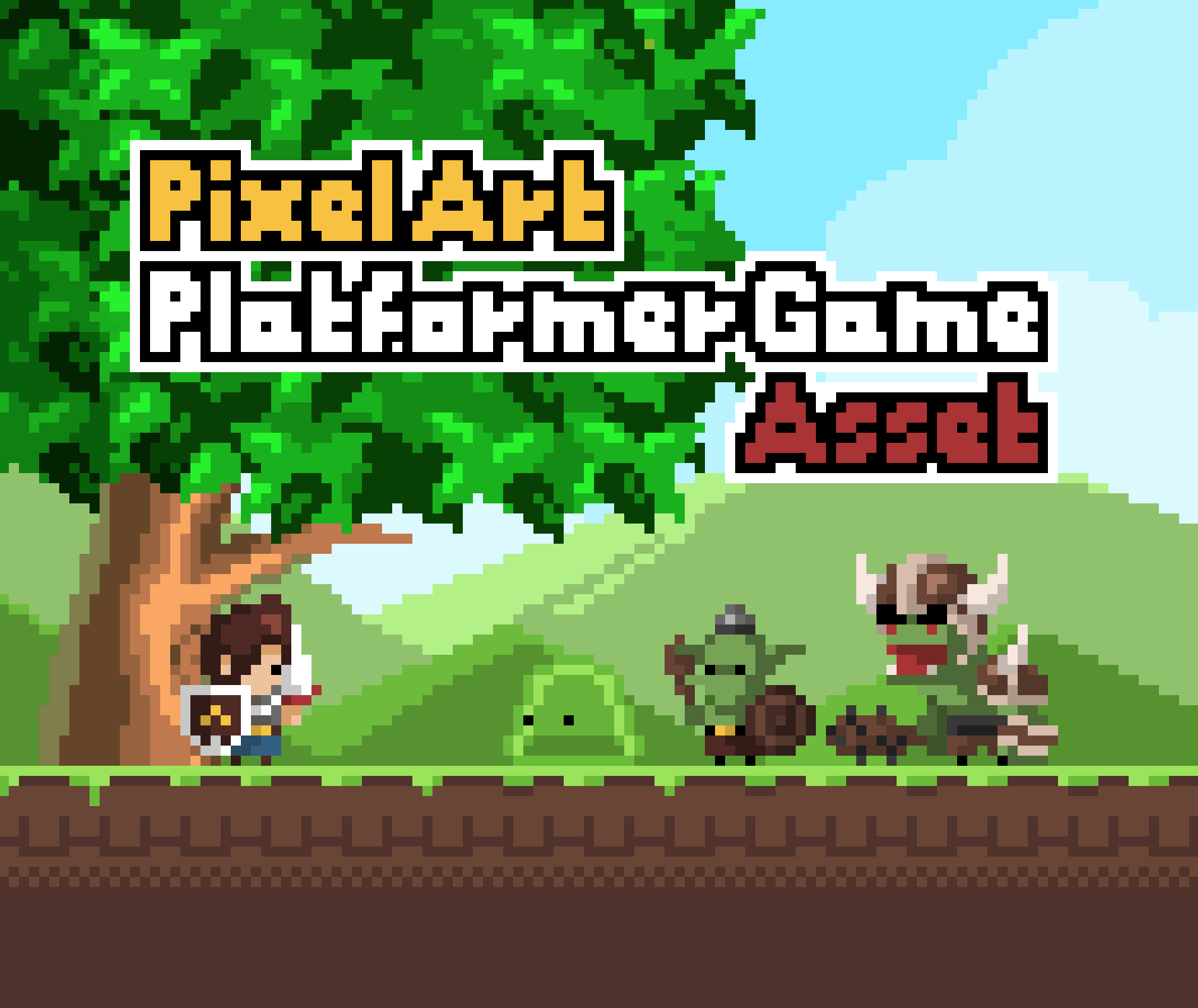 Pixel Art Asset for Platformer Game